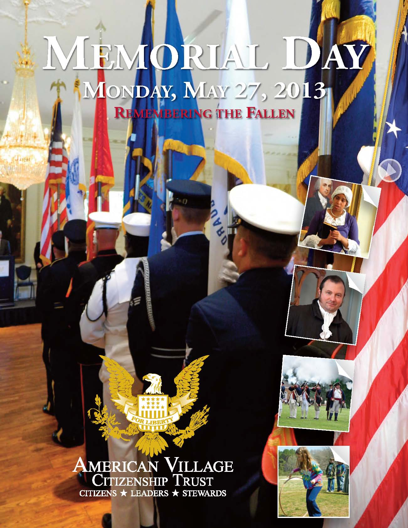 2013 Memorial Day Program Page 1