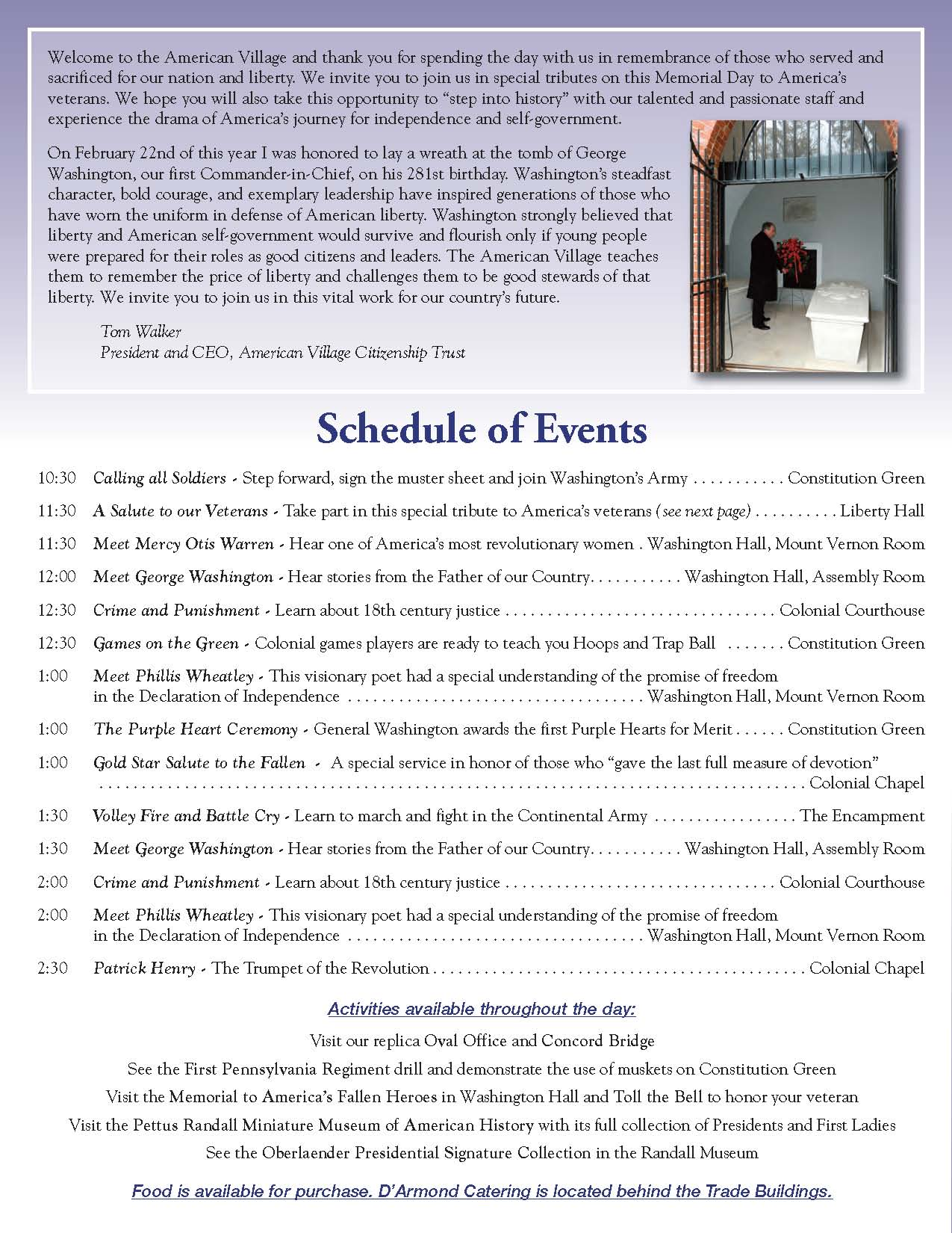 2013 Memorial Day Program Page 2