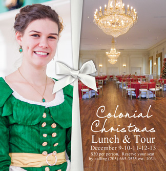 2019 Colonial Christmas ad