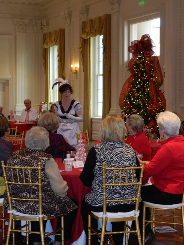 Christmas lunch, Dolley Madison
