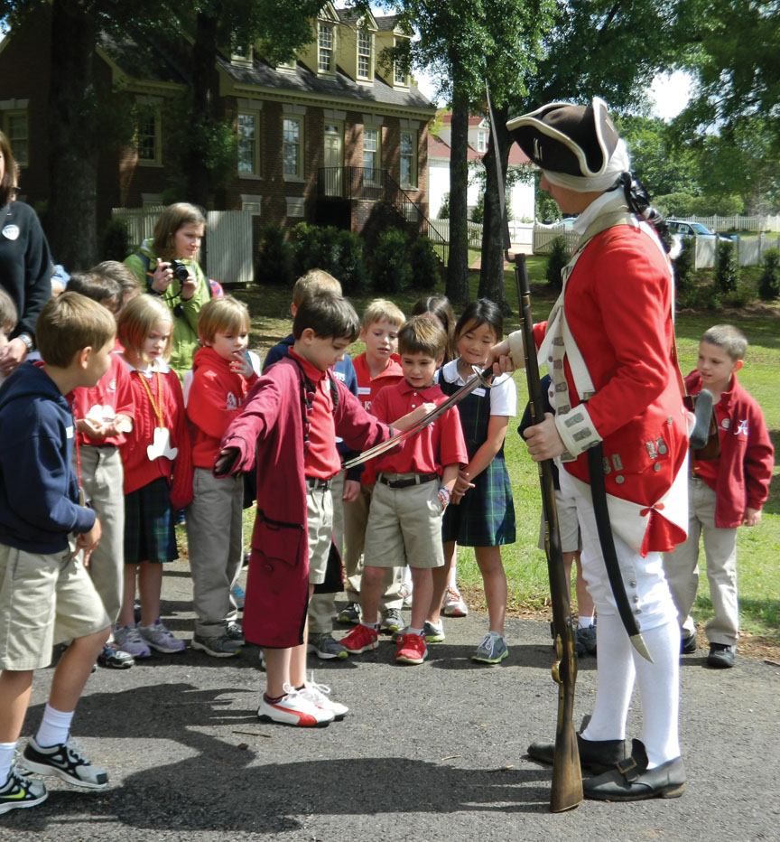 LAS Patriots redcoat