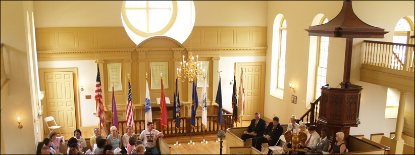 Chapel on Veterans Day